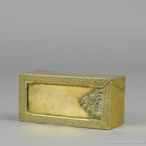 19th c Chinese / Indonesian Bronze Box