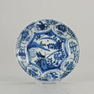 1 pair Antique Blue and white porcelain jar pagoda in ancient China /&3